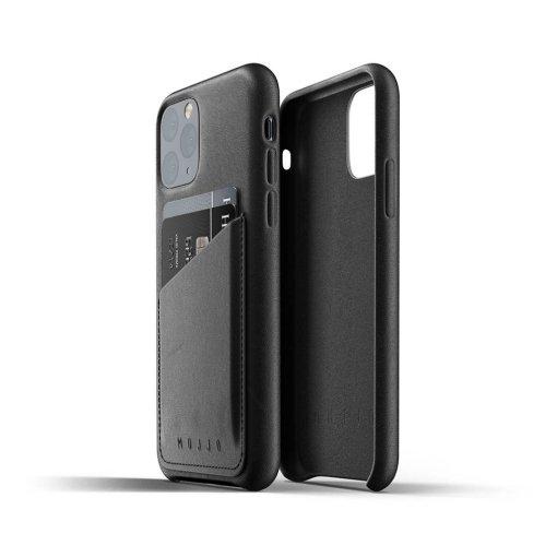 Mujjo Full Leather Wallet Case för iPhone 11 Pro