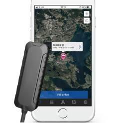 SweTrack Lite GPS spårning Designattribut