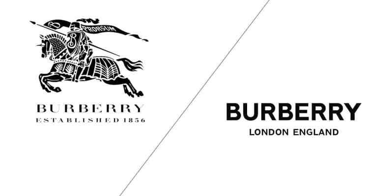 nové logo burberry