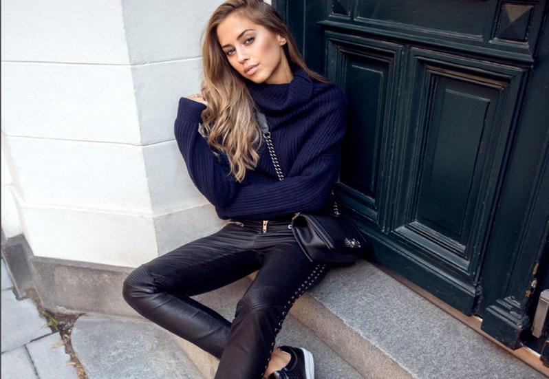 jak se nosí kožené kalhoty (2)