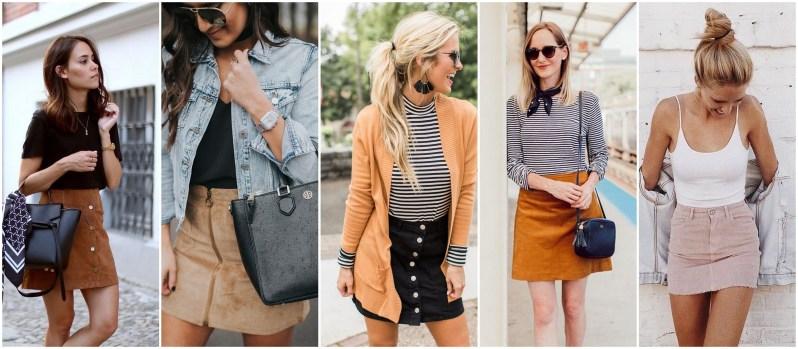 manšestrová sukně podzimní trend 2018 (4)