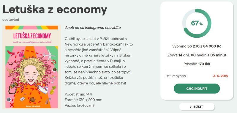 letuška z economy pointa předprodej