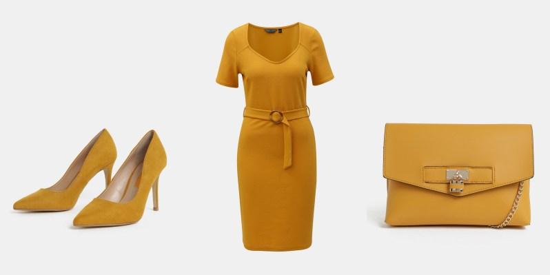 jak se nosí hořčicová a kanárkově žlutá módní trendy (2)