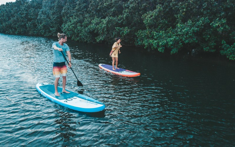 Paddleboarding v jižních čechách