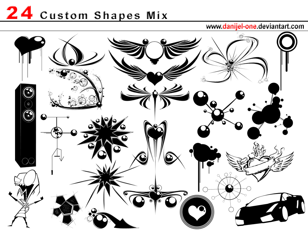 6.photoshop-custom-shapes
