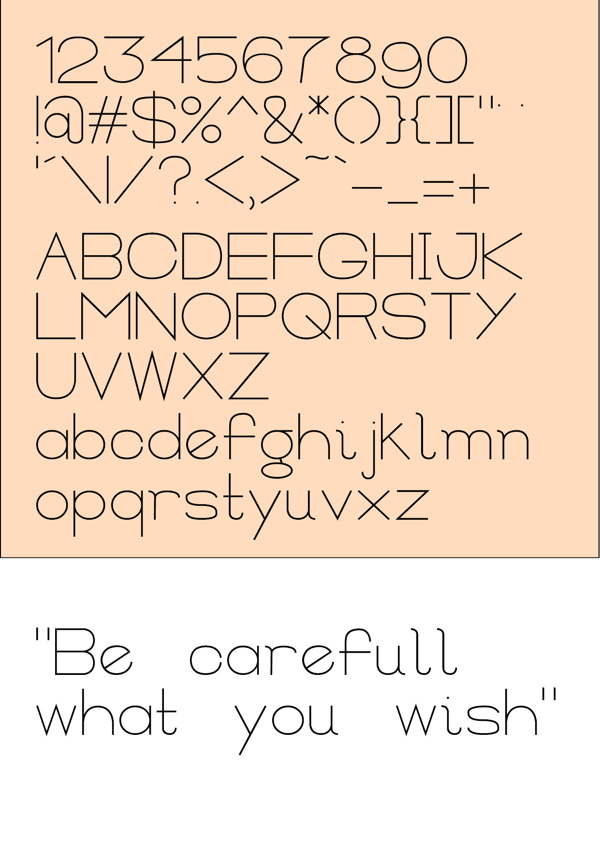 2.Free Font Of The Day  Actual