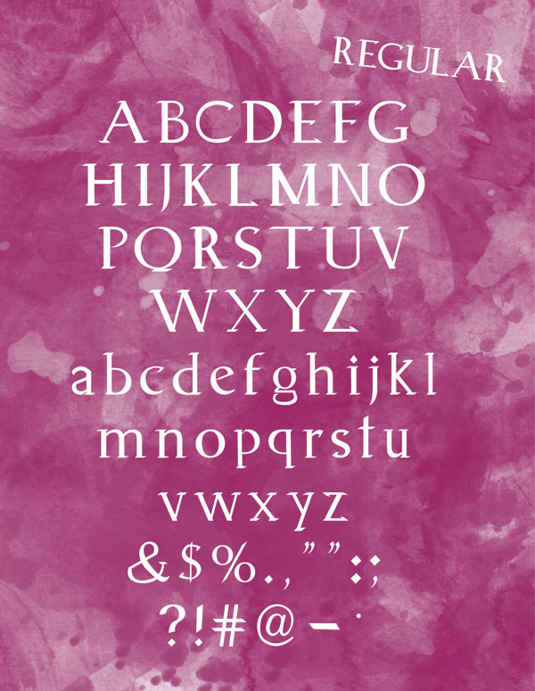 2.Free Font Of The Day  Animagus