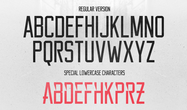 2.Free Font Of The Day  Reckoner