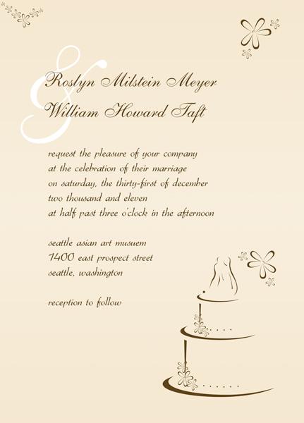 Wedding reception invites free wedding invitation sample wedding reception invitation make modern invitations stopboris Gallery