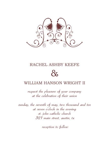 Marvelous Sample Civil Wedding Invitation 42 On Fonts With