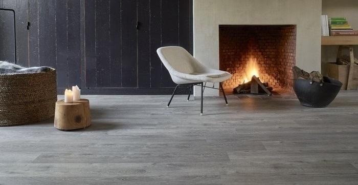 BerryAlloc Spirit Home Click 30 Rigid Designboden grace greige Raumbild