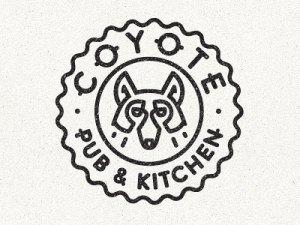 coyote simple line logos examples branding cool moody board designbolts eezo igor identity graphic visit brand