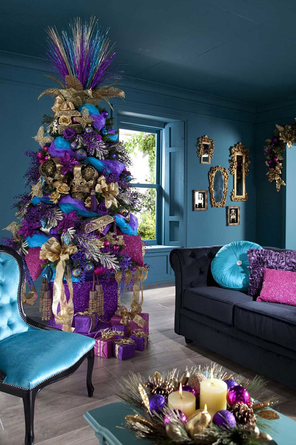 Christmas Tree Decorations & Ideas For 2013  30 Tree Images