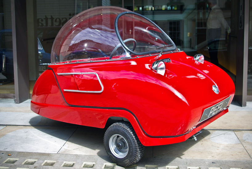 Peel Trident + P50: The World's Smallest City Car