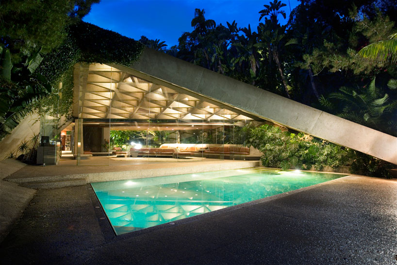 John Lautner Sheats Goldstein Residence