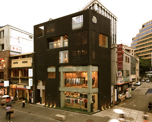 Younghan Chung Architects Poroscape In Seoul