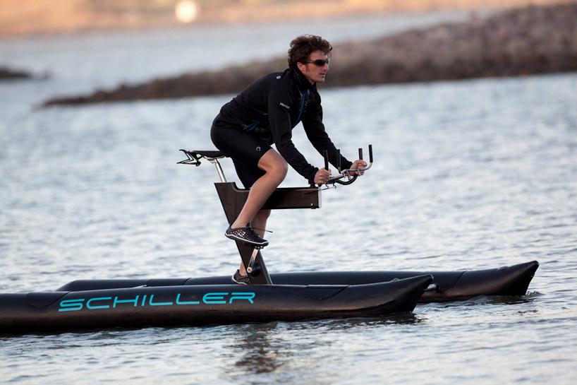 Schiller Sport X1 Water Bike Creates New Aquatic Cycling