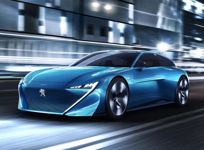 Peugeot Instinct Electric Self Driving Concept Car