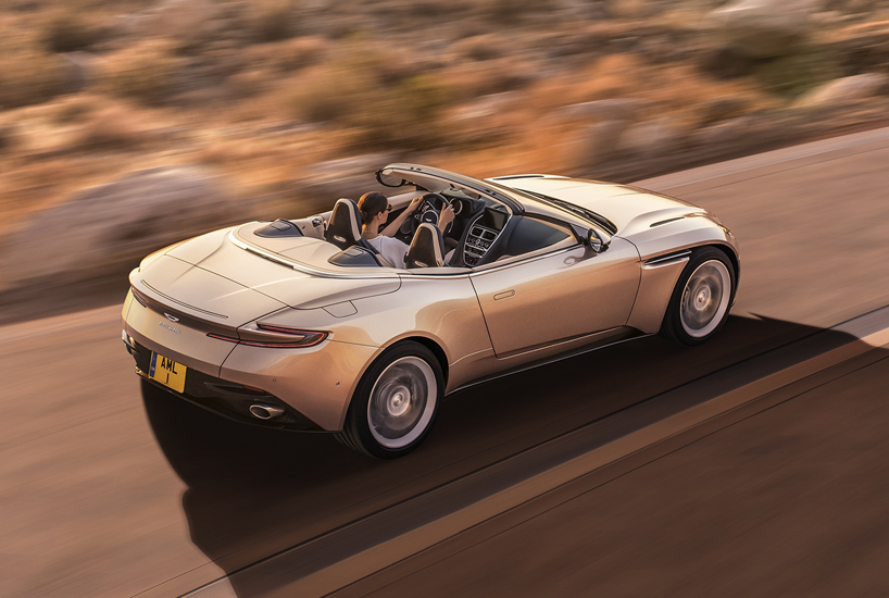 Aston Martin Db11 Volante Is A Sleek, Sculpted Opentop
