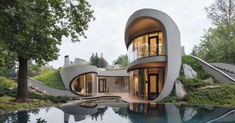 landscape architect niko organic moscow architecture futuristic into