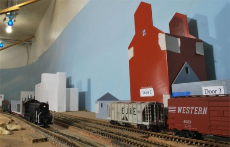 Carrollton yard on John's older layout.