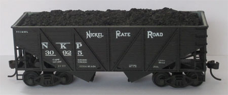 Accurail composite coal hopper