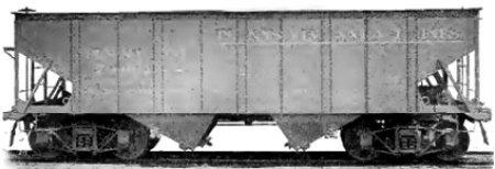 Standard Steel Car Company steel hopper of 1904