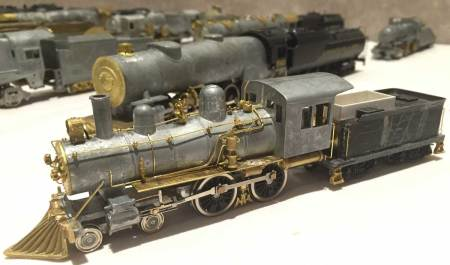 One of several fine HO scale locomotives Fred Lass displayed at the recent RPM-East meet.