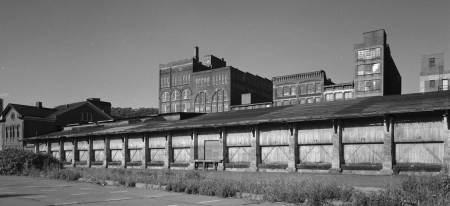 B&O Freight House, Wheeling, W. Va. Library of Congress, Prints & Photographs Division, HAER WVA, 35-WHEEL, 4