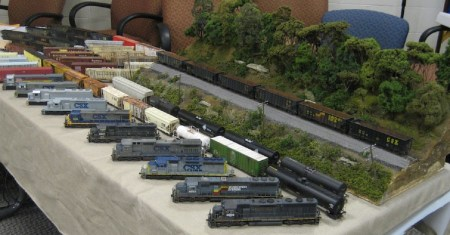 Just a few models on display at an RPM event.