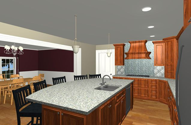 planning a kitchen island glass backsplashes for kitchens large family and design options