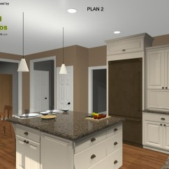 How To Build A Kitchen Island With Cabinets Reclaimed Wood Table Remodel Oil-rubbed Bronze Appliances And ...