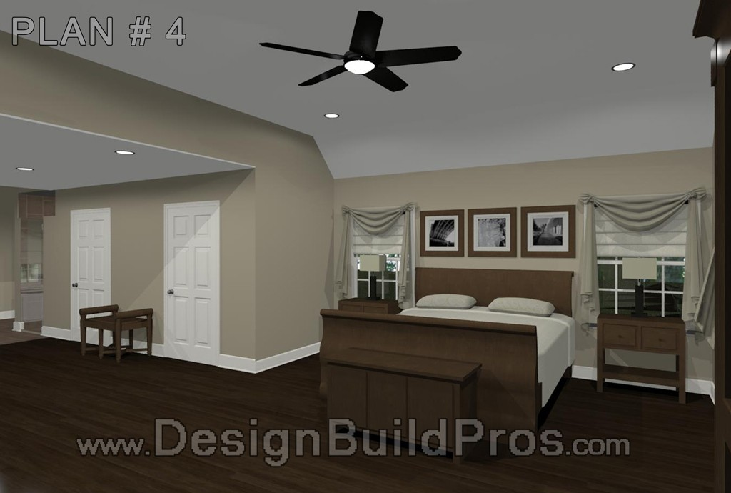 Maryland Master Bedroom and Bathroom Remodeling  Design Build Planners