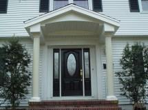 Front Door Overhang Designs