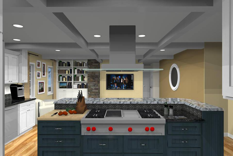 kitchen renovation cost island granite how much does a nj remodeling estimates from db pros