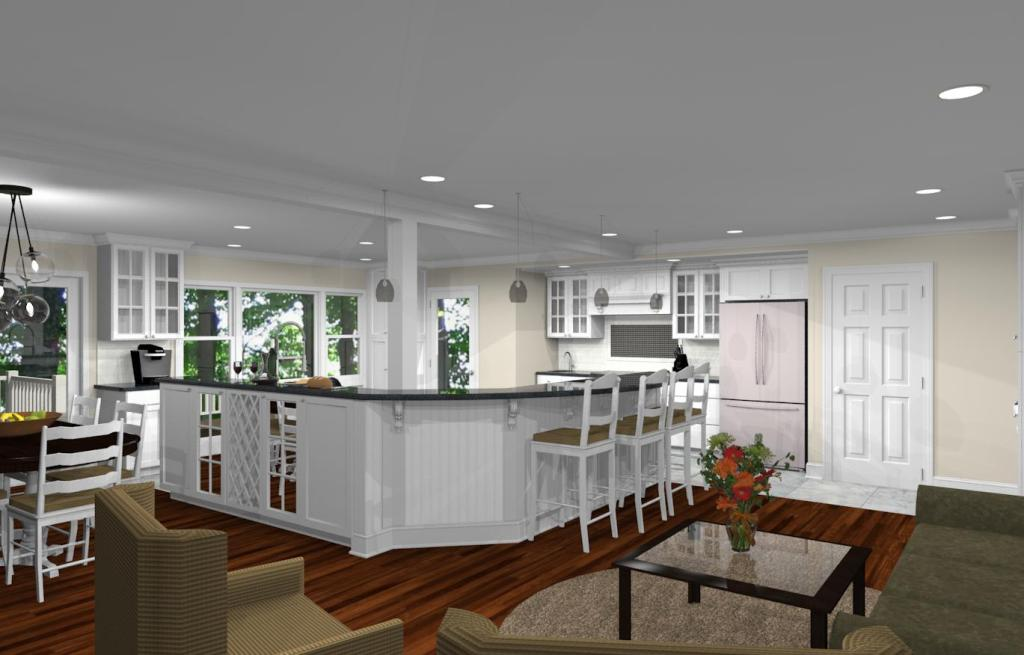 kitchen remodel budget window treatments for kitchens remodeling design with open floor plan in watchung ...