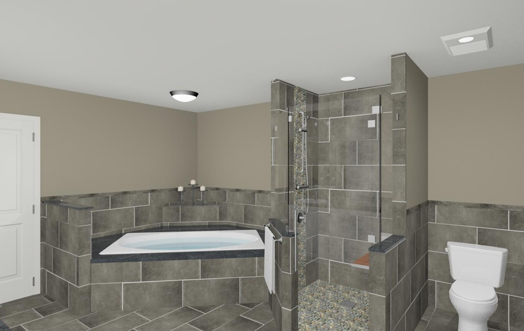 Bathroom Shower Makeover in Wall NJ 07719  Design Build