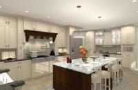 Gourmet Kitchen Addition Design in Monmouth County, NJ ...
