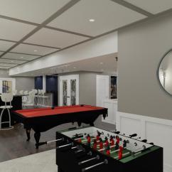 Kitchen And Bathroom Remodeling Mats Gel Luxury Basement Designs In Somerset County, Nj - Design ...