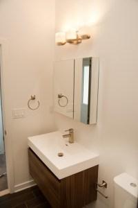 Floating Bathroom Vanity - Design Build Planners