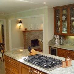 Kitchen Island With Cooktop Mandolin Cook Tops In Islands Design Build Planners