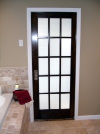 Smoked Glass Doors in Remodeling - Design Build Planners
