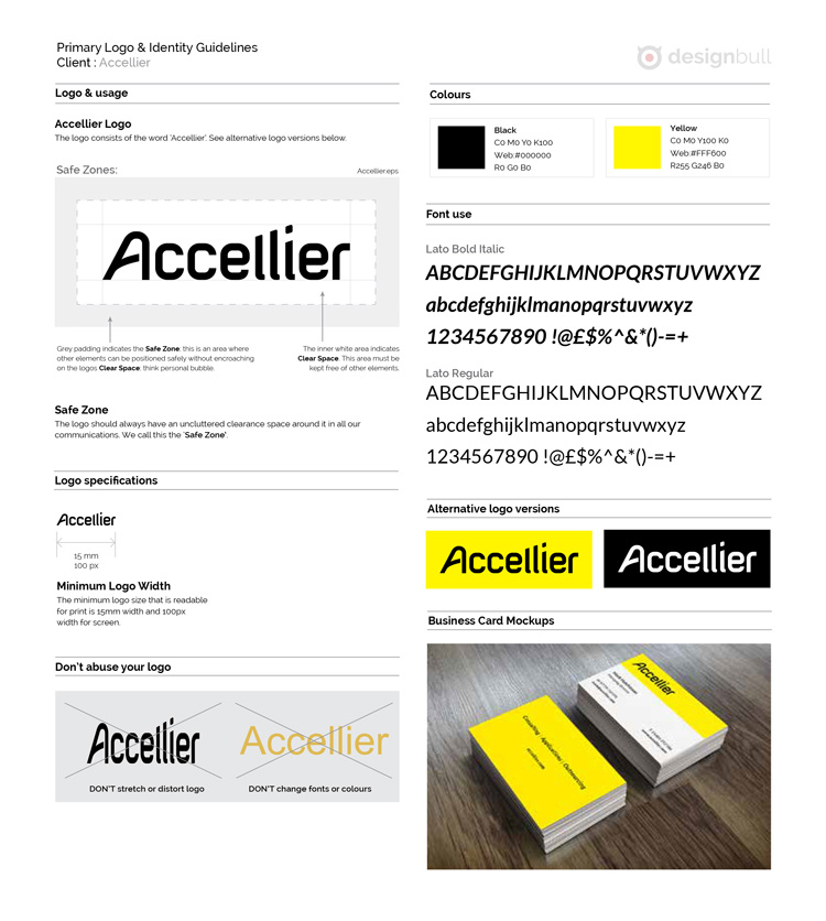 Accellier Brand Guidelines