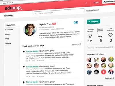 30 User Profile Page Designs For Inspiration DesignBump