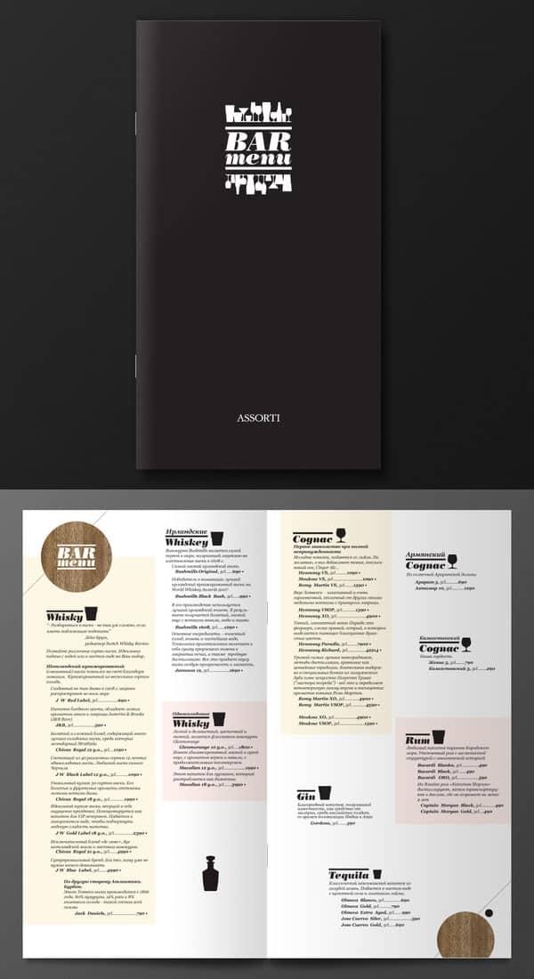 40 Restaurant Menu Designs for Inspiration Design Bump