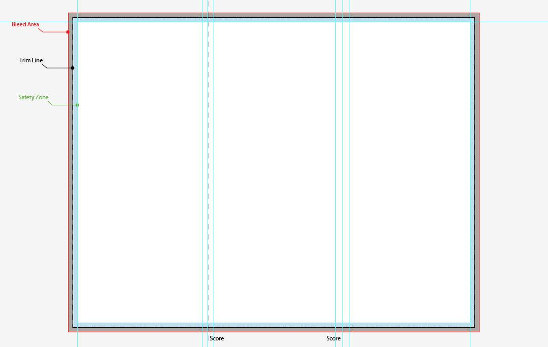 Free Corporate Tri Fold Brochure Template DesignBump