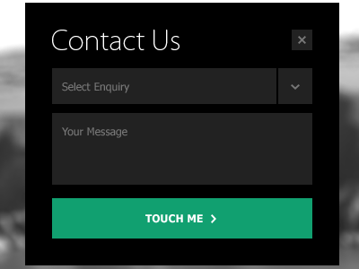 30 Awesome Examples Of Contact Forms And Pages DesignBump
