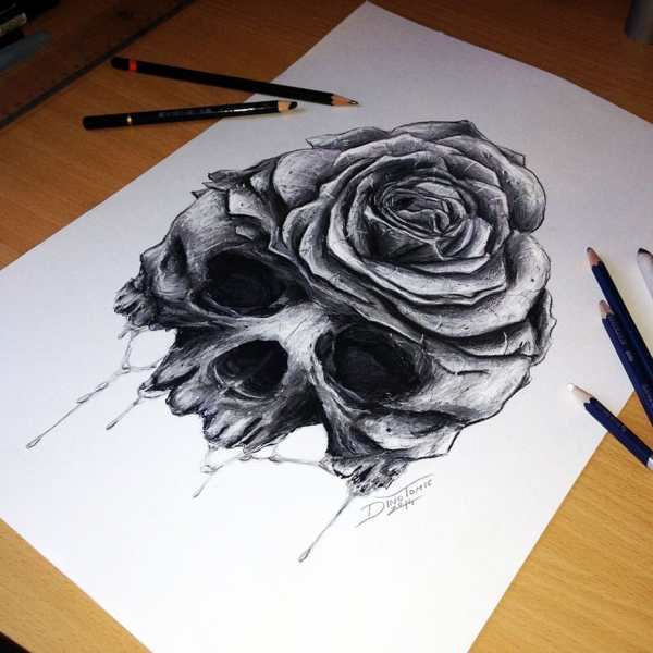 Expressive Pencil Drawings Dino Tomic -designbump