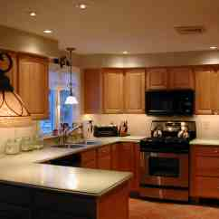 Small Kitchen Lighting Color For Cabinets 29 Inspiring Ideas Designbump