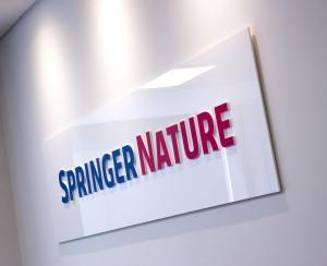 Springer Nature_Brand Signage